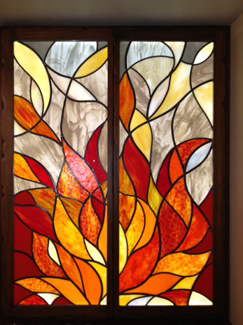 Decorative Panels Whitefeather Stained Glass